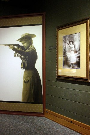 Greenville, OH: Garst Museum, Oakley exhibit