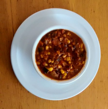 Roberts Creek, Canada: Hearty vegan chili