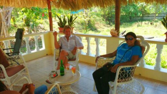 Luperon, Dominican Republic: Patio