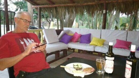 Luperon, República Dominicana: Patio