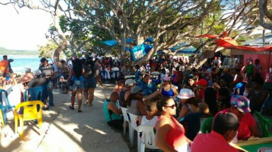 Luperon, Dominican Republic: Beach party
