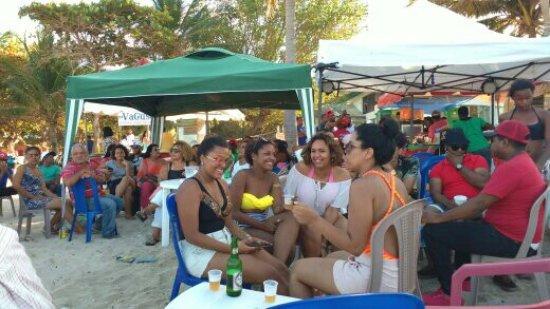 Luperon, República Dominicana: Beach Party