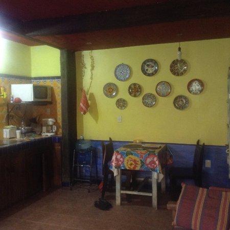 La Casa de los Abuelos: kitchen area