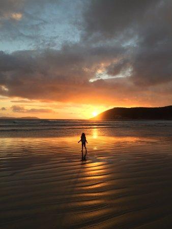 Sunset Norman Beach
