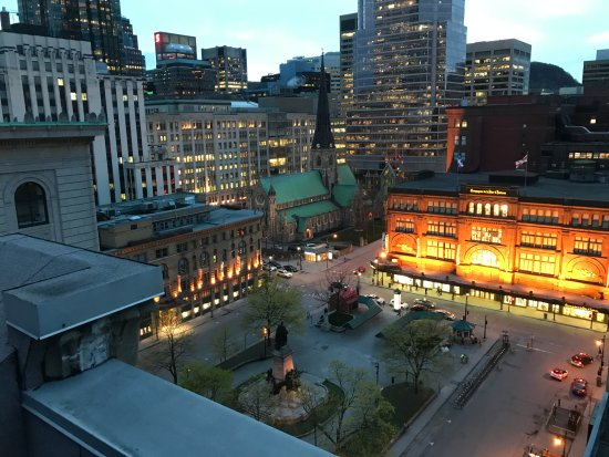 Le Square Phillips Hotel & Suites: View from the Terrace