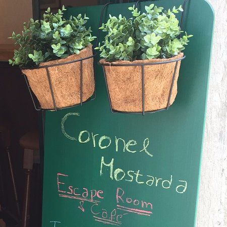 Coronel Mostarda Escape Room & Cafe