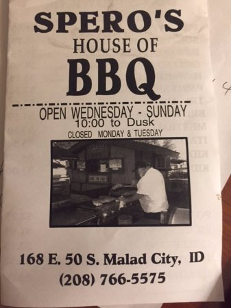 Malad City, ID: Menu