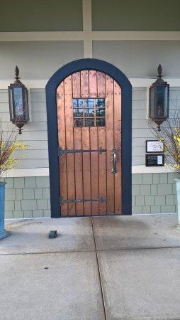 Copper Door Picture & BBQ