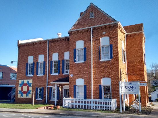 Abingdon, VA: Our craft shop is in the building once used as the Washington County Jail.