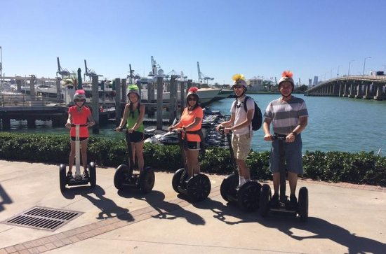 Excursão por South Beach Segway