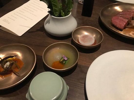 Benu: Accoutrements to beef