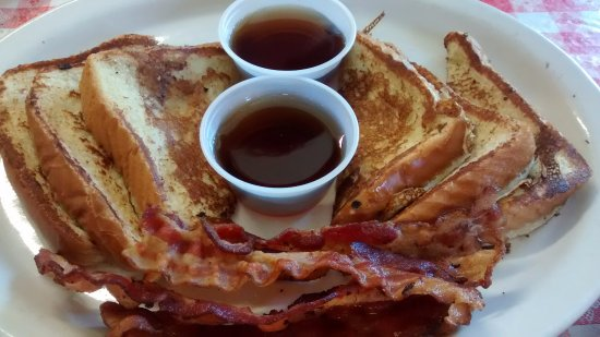 Angie's Restaurant: French Toast with Bacon