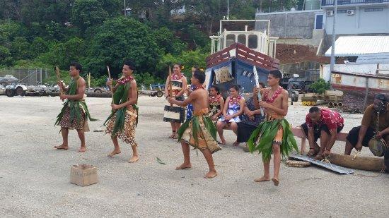 Vava'u Islands, Tonga: Traditional Tongan welcome