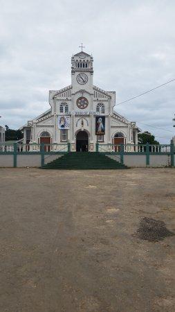 Vava'u Islands, Tonga: Church at top of the hill