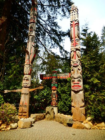 North Vancouver, Canada: part of the great collection of totem poles