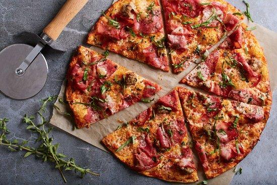 Sicilian Thin Crust - Picture of California Pizza Kitchen Guam ...