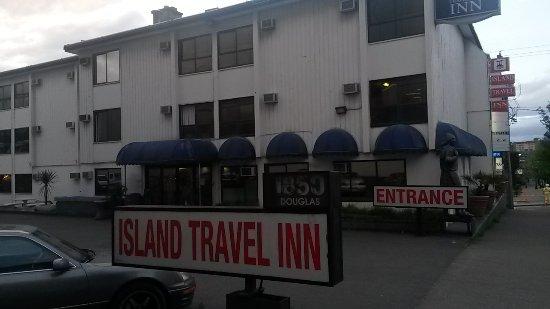 Island Travel Inn: Kein Werbefoto. So siehts aus!