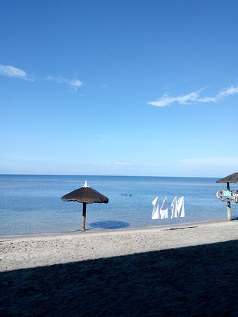 Bataan White Corals Beach Resort: shallow but look out for sea urchins