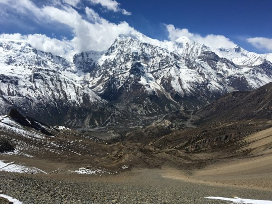 View From Kang La Pass On Our Acclimatistion Day Ngawal