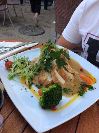 Sandvig, Denmark: Lækker og smagfuld unghane