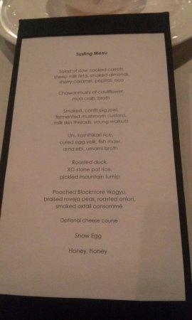 Quay Restaurant: Quay - Tasting Menu.