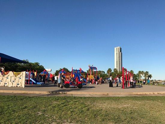 Seabrook, TX: Playground near the water