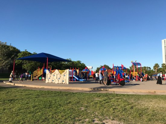 Seabrook, TX: Playground near the water