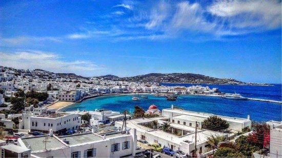 Stelios View Mykonos Town: View