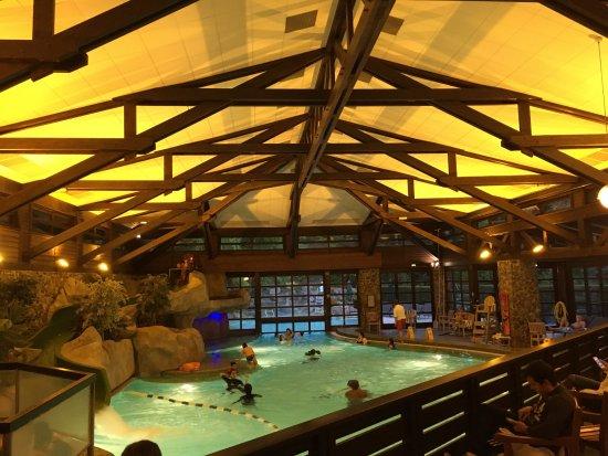 Piscine sql picture of disney 39 s sequoia lodge coupvray for Hotel sequoia lodge piscine