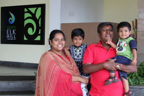 Ooty - Elk Hill, A Sterling Holidays Resort: My family