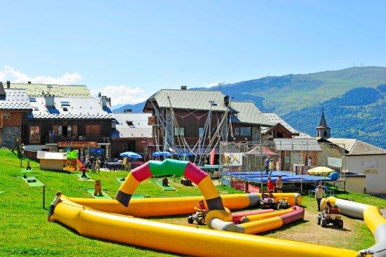 Jeux enfants - Village Club Cap'vacances de La Plagne