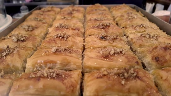 Epsom, Νέα Ζηλανδία: The ever popular Turkish dessert Baklava.