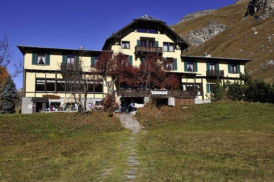 Sils im Engadin, سويسرا: Hotel Fex Sommer 