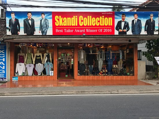 Lamai Beach, Thailand: New look of Skandi collection
