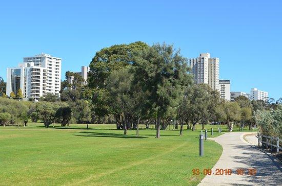 South Perth, Australien: Ample tracks