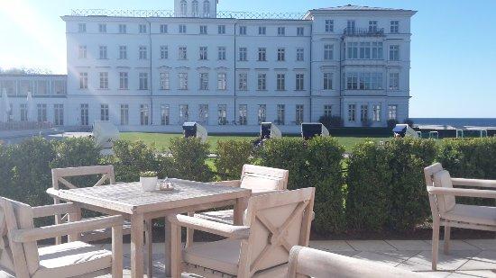 Ostseebad Heiligendamm, Germany: Take your Afternoon Tea outside