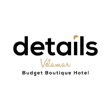 Logo velamar budget boutique hotel foto de velamar for Boutique hotel logo