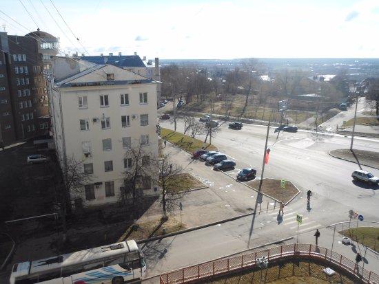 Zarya Hotel: Панорама Владимира из окна отеля