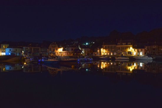 St Issey, UK: Evening in Padstow