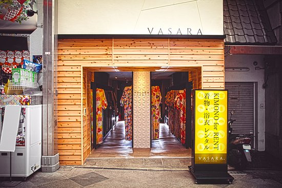 Kimono Rental Vasara, Kyoto Honten