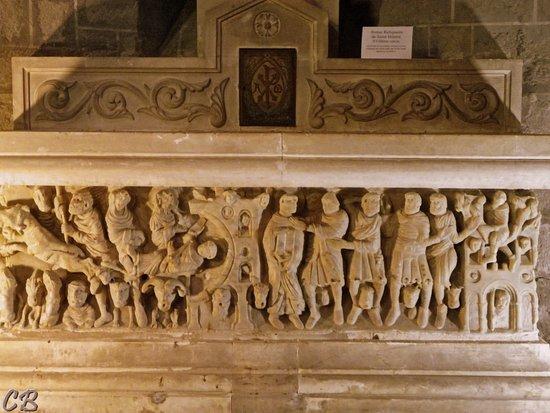 Saint-Hilaire, Francia: Sculptures du Maître de Cabestany