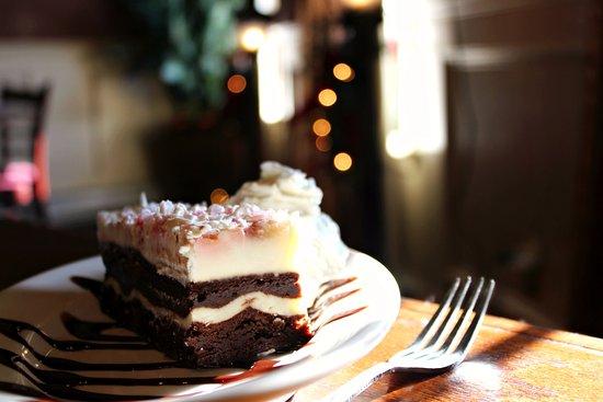 Hornell, NY: Peppermint Stack for dessert