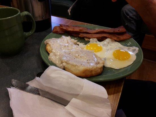 Canonsburg, Pennsylvanie : Breakfast overload.