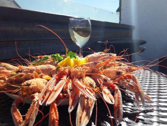 Seaforth Bar and Restaurant: Freshly landed