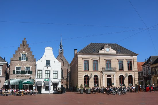 Steenwijk, The Netherlands: The market square
