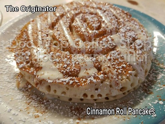 Wildwood Crest, NJ: Wait until you see the new items!!  But the  cinnamon roll pancakes are still flyin fast.....eve