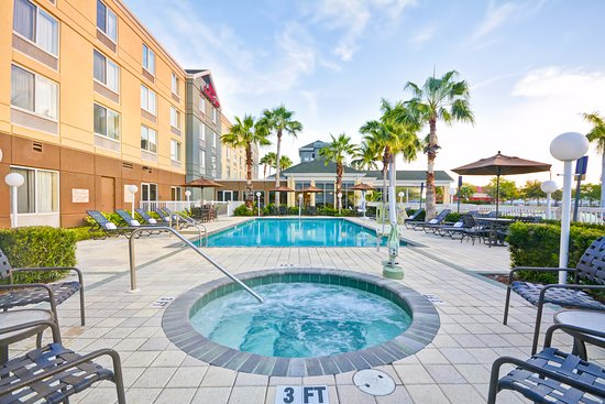 Hilton Garden Inn Sarasota - Bradenton Airport: You can relax in the Southwest Florida sun at our outdoor pool and spa.