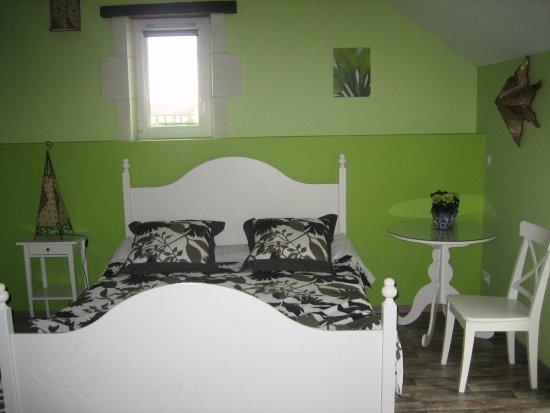 Saint-Georges-sur-Cher, Γαλλία: chambre familiale Caipirinha