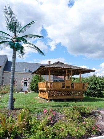 Saint-Georges-sur-Cher, Γαλλία: Jardin clos