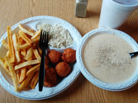 Roebuck, SC: Chicken Stew Dinner. So good on a chilly day.